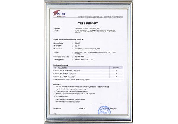 PC 071 TEST EN12520
